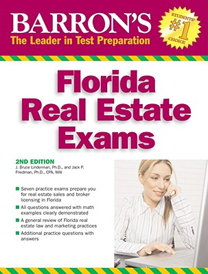 Barron's Florida Real Estate Exams By Lindeman, J. Bruce/ Friedman, Jack P.